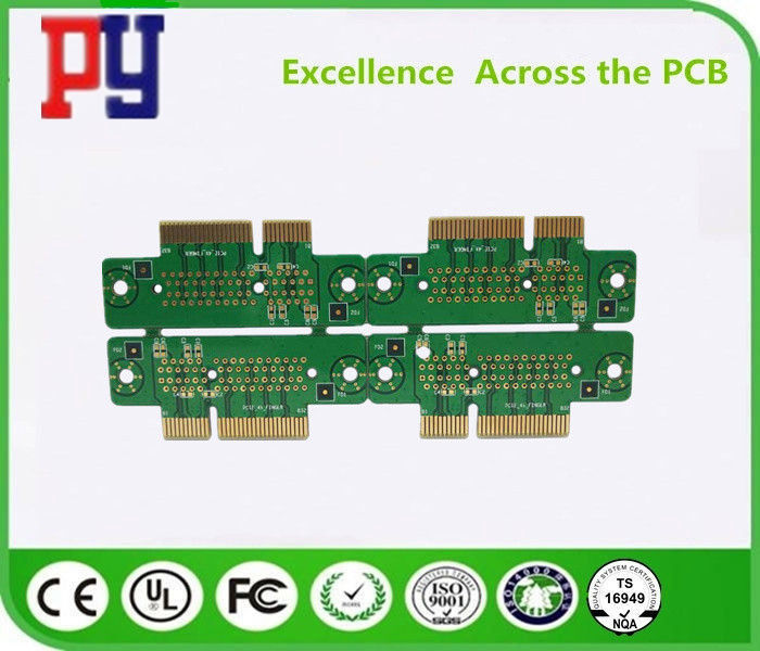 Server Outer Line PCB Printed Circuit Board 4 Layer 1.6mm Immersion Gold Thickness