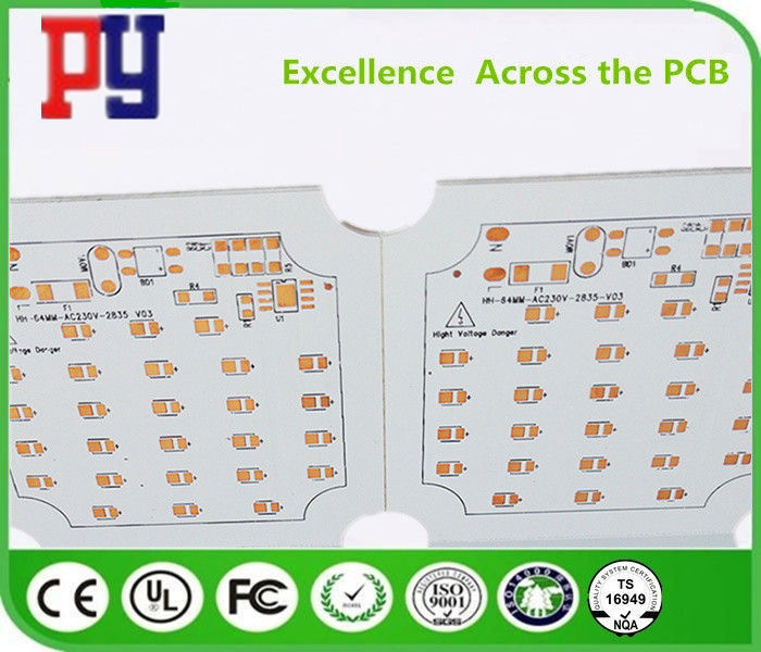 Surface Finish Osp Single Layer PCB Fabrication 22F Fiberglass Board Line Width 0.4mm