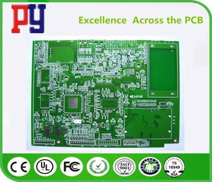 HASL Surface Finishing FR4 PCB Board 1.6mm Board Thickness Fr4 Double Side