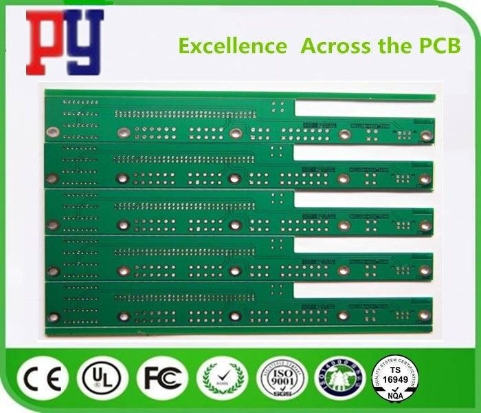 Custom Thickness FR4 PCB Board Flexible Material HASL Lead Free Surface Finishing