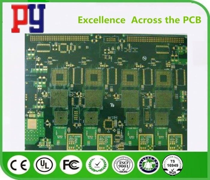 1.6MM Thickness PCB Printed Circuit Board Fr4 Base Material High Tolerance