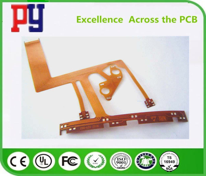 2  layers  flexible pcb 1 OZ   double side Board   polyimide
